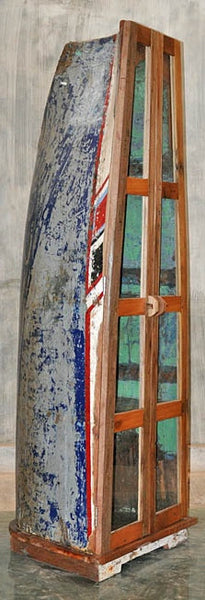 Boat with Glass Double Doors - #117