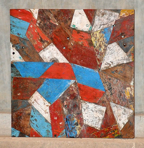PATCHWORK TRIANGLE PANEL 32x32 - #121