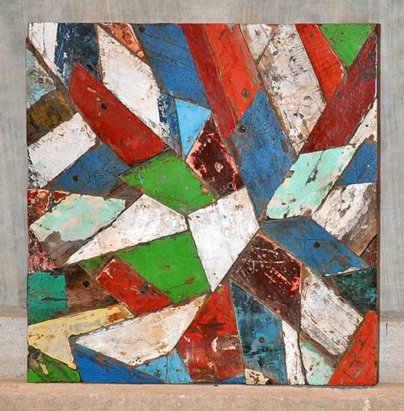 PATCHWORK TRIANGLE PANEL 32x32 - #124