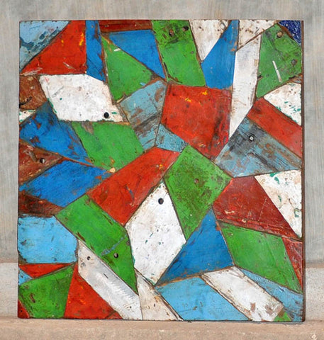 PATCHWORK TRIANGLE PANEL 32x32 - #128