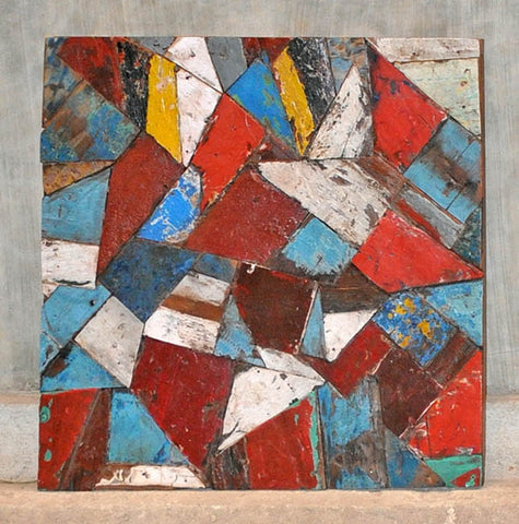 PATCHWORK TRIANGLE PANEL 32x32 - #111