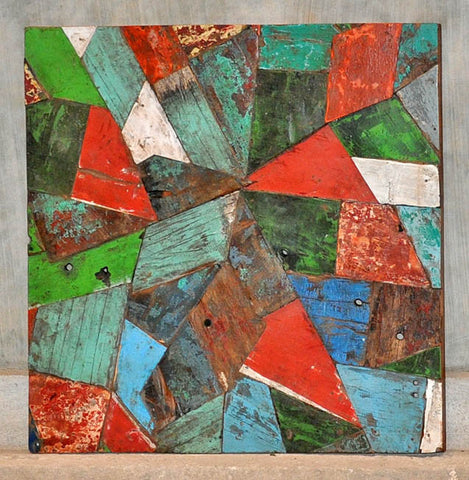 PATCHWORK TRIANGLE PANEL 32x32 - #130