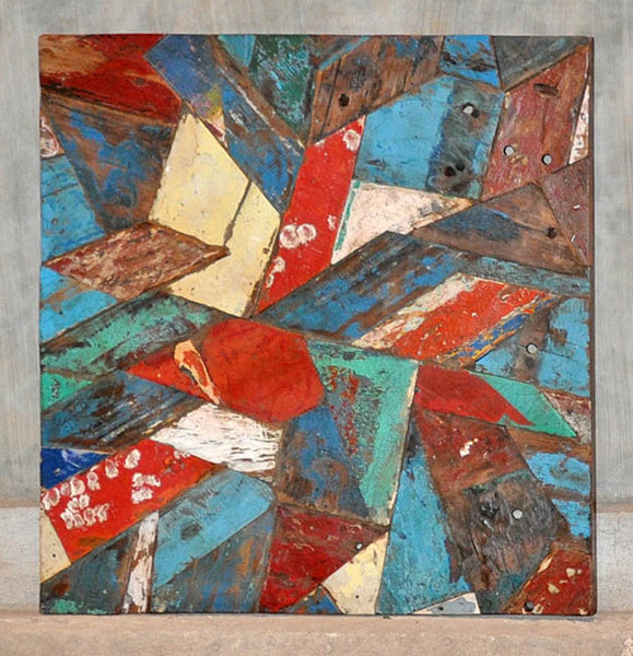 PATCHWORK TRIANGLE PANEL 32x32 - #134