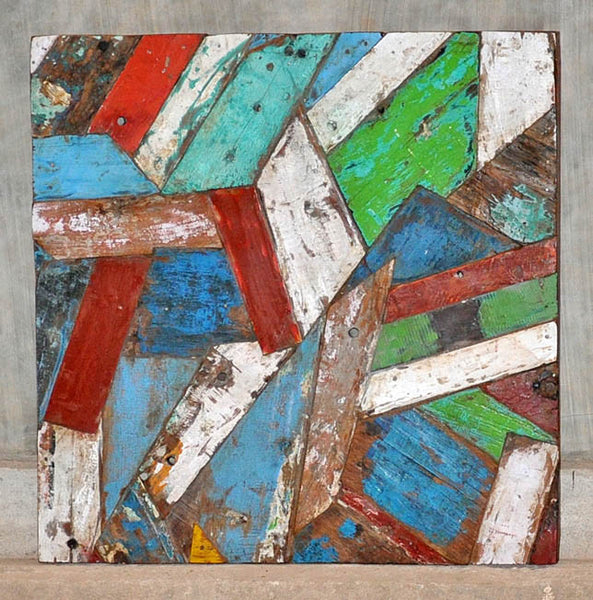 PATCHWORK TRIANGLE PANEL 32x32 - #135