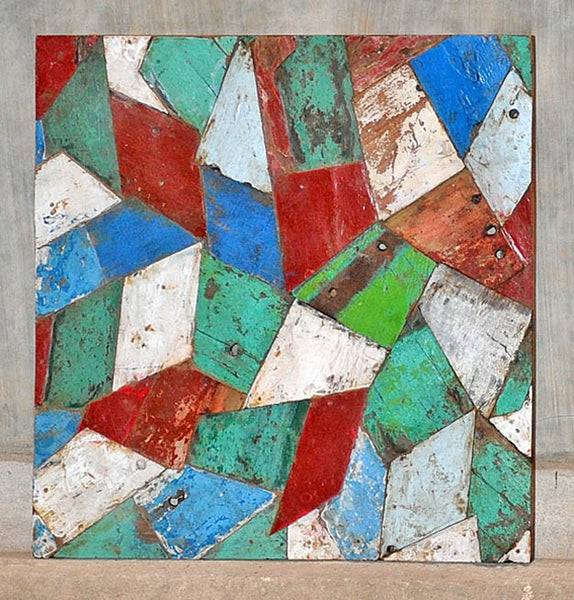 PATCHWORK TRIANGLE PANEL 32x32 - #137