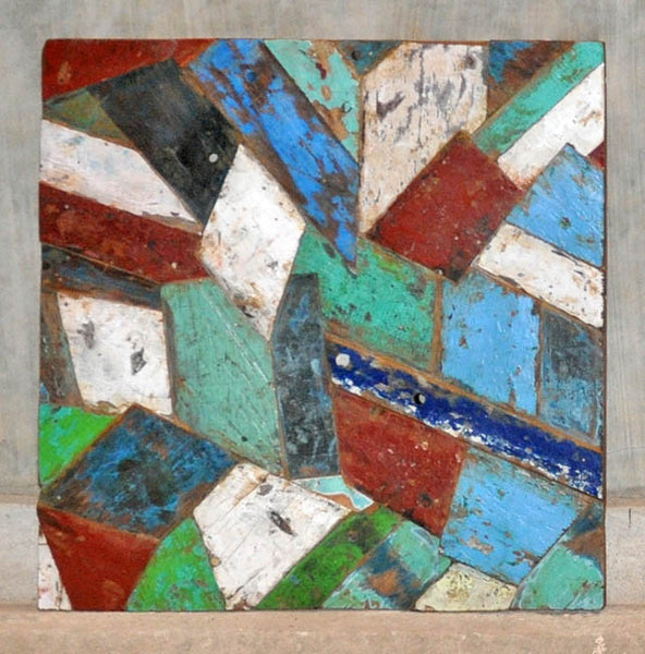 PATCHWORK TRIANGLE PANEL 32x32 - #139