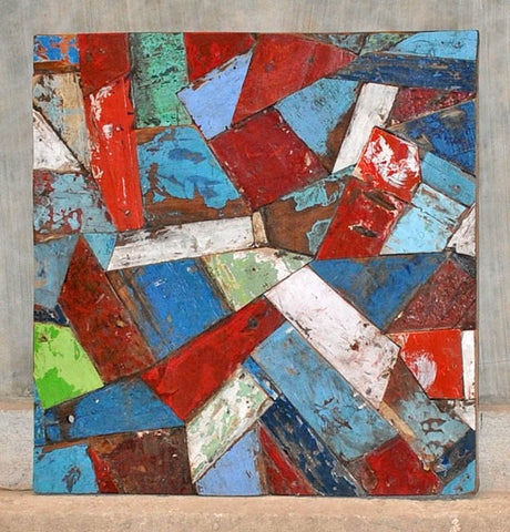 PATCHWORK TRIANGLE PANEL 32x32 - #112