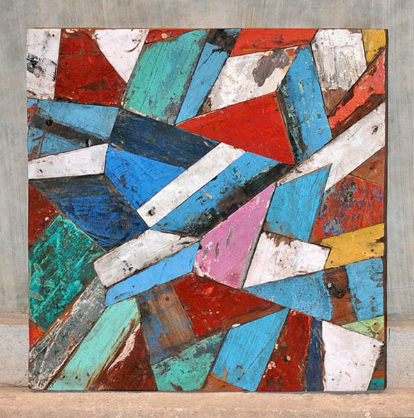 PATCHWORK TRIANGLE PANEL 32x32 - #115