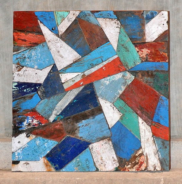 PATCHWORK TRIANGLE PANEL 32x32 - #116
