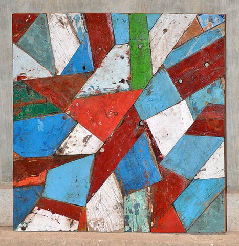 PATCHWORK TRIANGLE PANEL 32x32 - #118