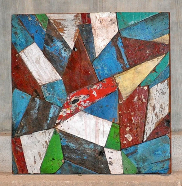 PATCHWORK TRIANGLE PANEL 24x24 - #120