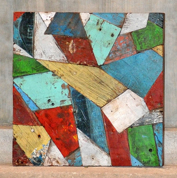 PATCHWORK TRIANGLE PANEL 24x24 - #121