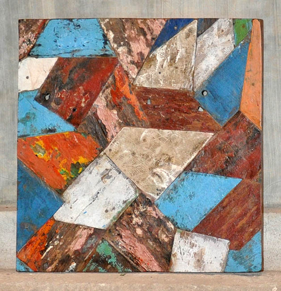 PATCHWORK TRIANGLE PANEL 24x24 - #125