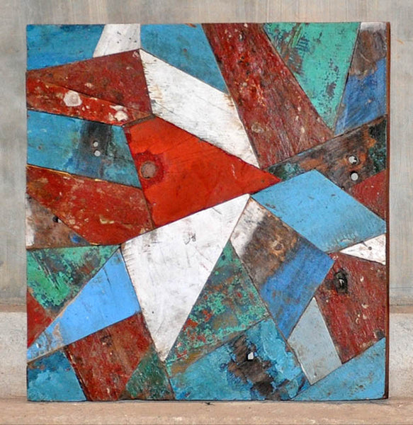 PATCHWORK TRIANGLE PANEL 24x24 - #127
