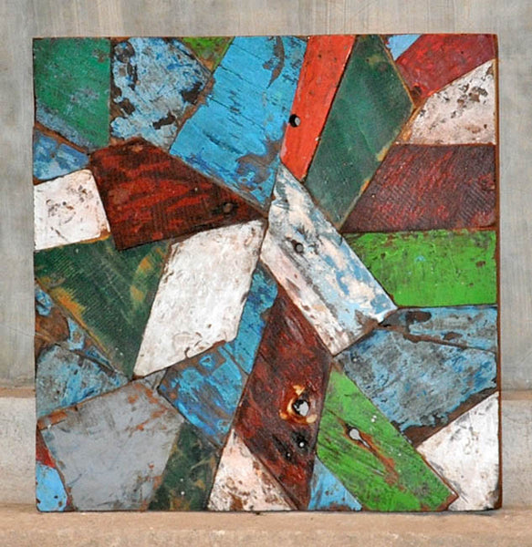 PATCHWORK TRIANGLE PANEL 24x24 - #128