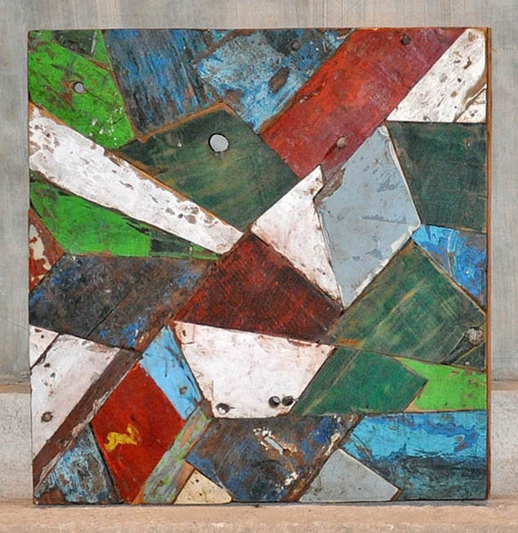 PATCHWORK TRIANGLE PANEL 24x24 - #132