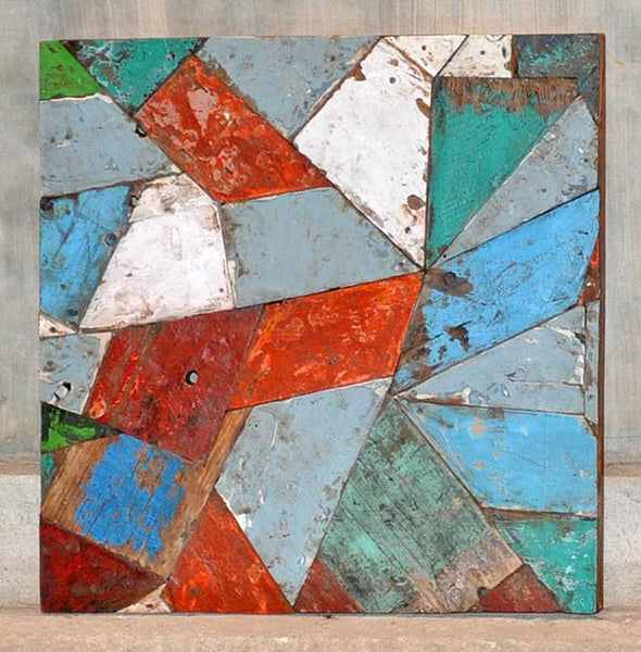 PATCHWORK TRIANGLE PANEL 24x24 - #134