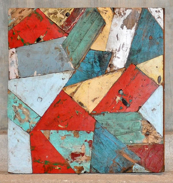 PATCHWORK TRIANGLE PANEL 24x24 - #135