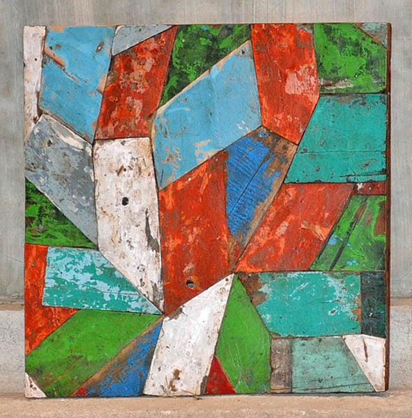 PATCHWORK TRIANGLE PANEL 24x24 - #136