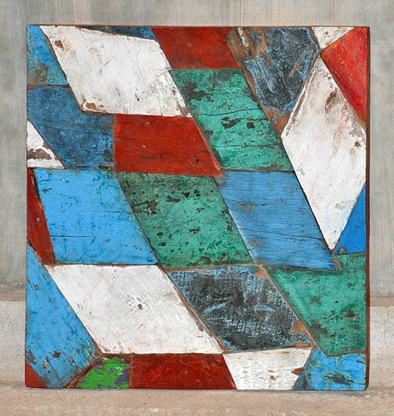 PATCHWORK TRIANGLE PANEL 24x24 - #138