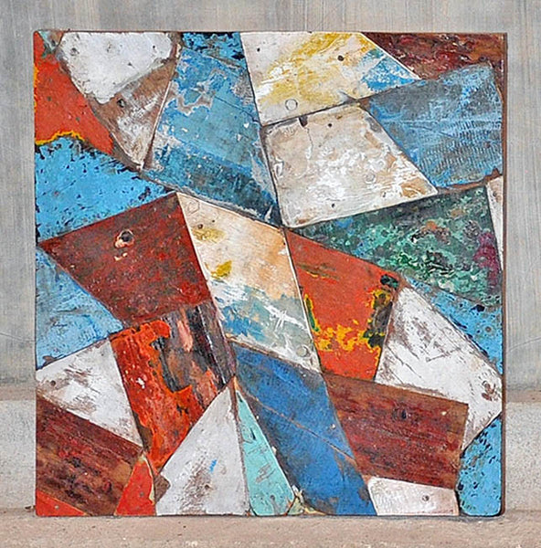 PATCHWORK TRIANGLE PANEL 24x24 - #140