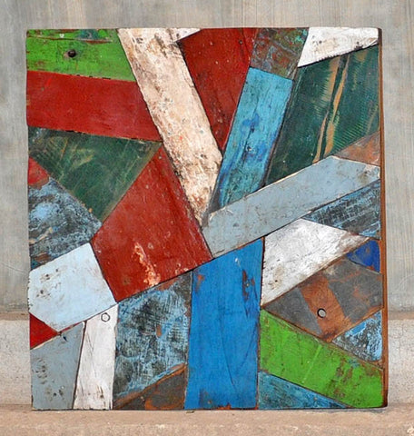 PATCHWORK TRIANGLE PANEL 24x24 - #116