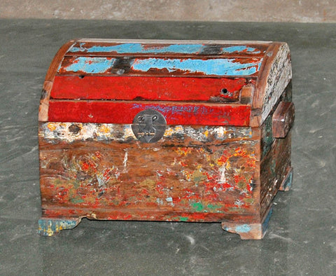 Half Round Treasure Chest - #136