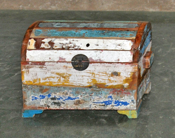 Half Round Treasure Chest - #138