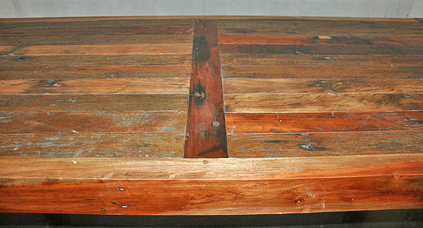 KK Brown Wood Dining Table 79x35 - #103