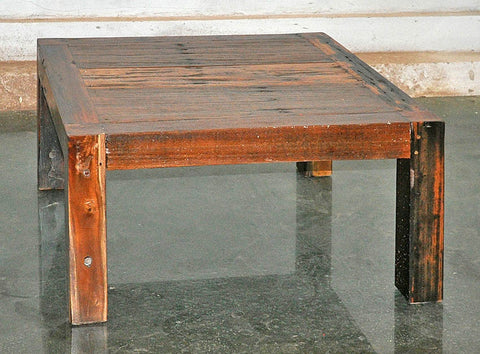 Brown Wood Coffee Table 32x32 - #101