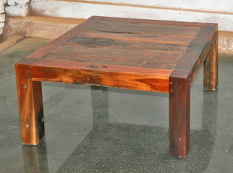 Brown Wood Coffee Table 32x32 - #102