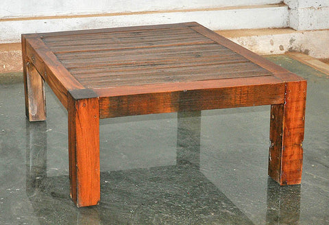 Brown Wood Coffee Table 32x32 - #108