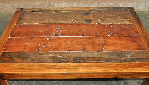 Brown Wood Coffee Table 47x32 - #105