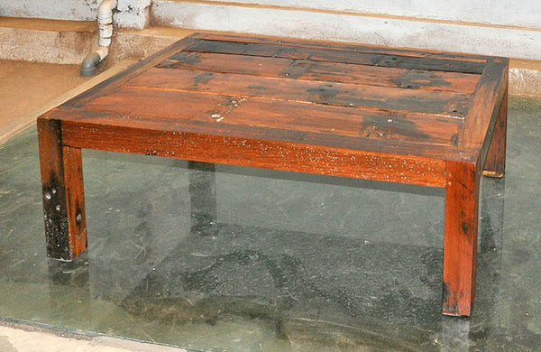 Brown Wood Coffee Table 47x32 - #103