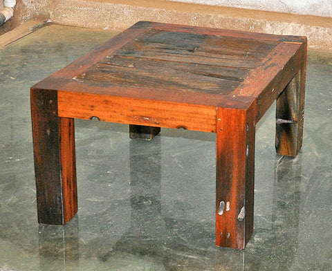 Brown Wood Coffee Table 24x24 - #101