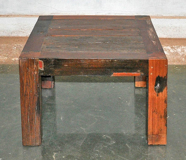 Brown Wood Coffee Table 24x24 - #103