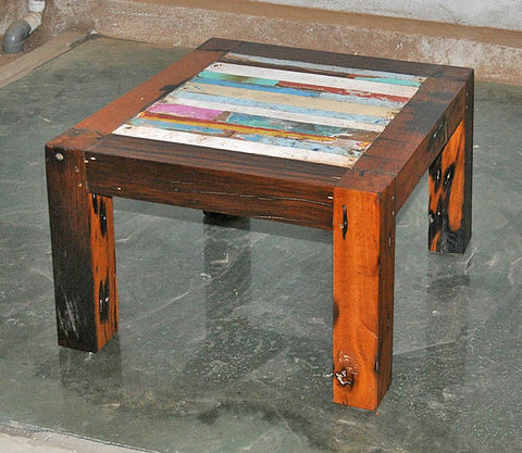 Coffee Table Finger 24x24 - #115