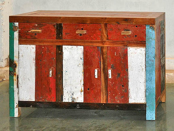 YUYU SIDEBOARD 3 DRAWER 3 DOOR - #120