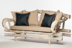 Bamboo Loveseat