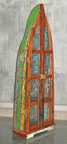 Boat with Glass Double Doors - #104