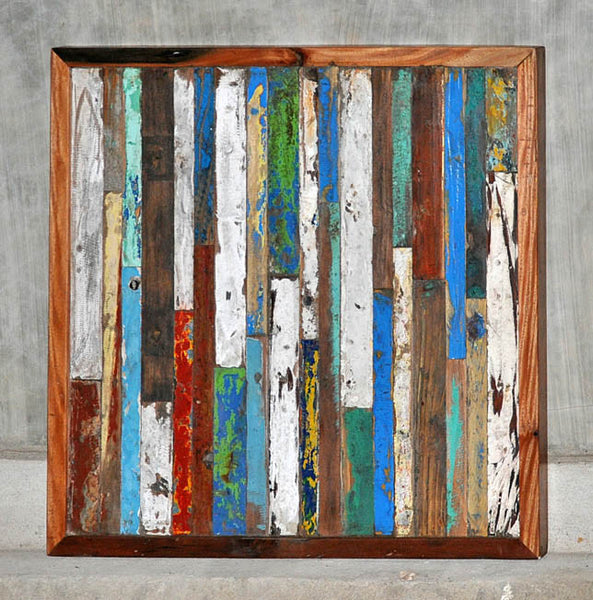 Finger Panel Framed 32x32 - #101