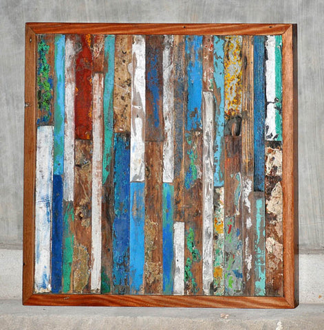 Finger Panel Framed 32x32 - #102
