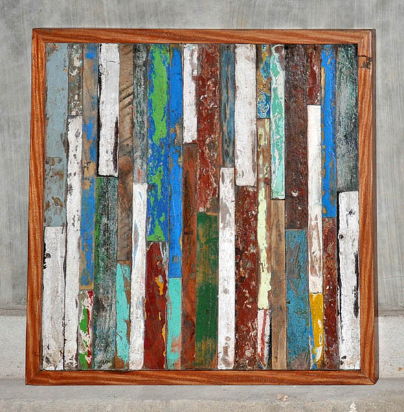 Finger Panel Framed 32x32 - #104