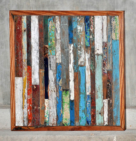 Finger Panel Framed 32x32 - #107