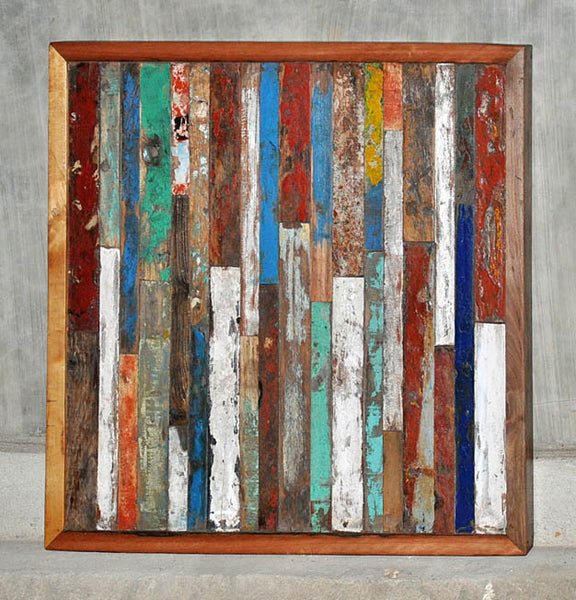 Finger Panel Framed 32x32 - #109