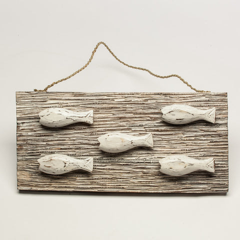 Fish Wall Panel White Wash - #99M