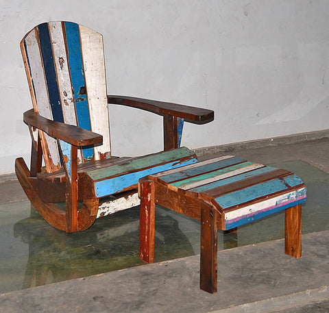 Sizilian Rocking Chair - #216