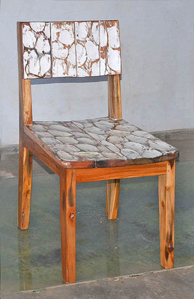 Standard Chair with White Carving - #131