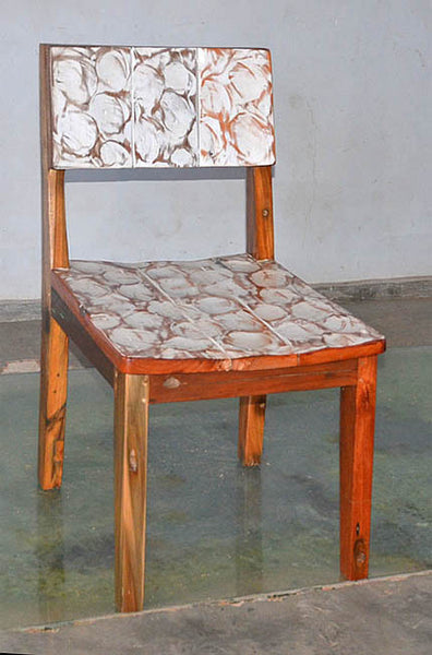 Standard Chair with White Carving - #141