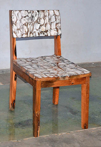 Standard Chair with White Carving - #106